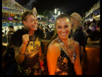 CAMAROTE ARPOADOR by Universal Music recebe celebridades no primeiro dia de desfile do Grupo Especial