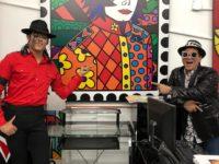Romero Brito recebe Rodrigo Teaser em seu ateliê