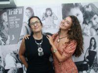 Anie Recinella inaugura a Vogue Rio de Janeiro e Alanis Guillen ganha painel em homenagem