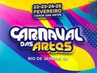 Carnaval das Artes reúne grandes artistas e vira lote para o festival no Rio de Janeiro