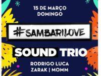 Música: Acqua apresenta a festa Samabrilove neste domingo, dia 15