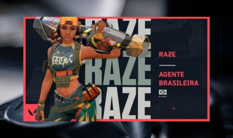 AGENTE RAZE: Riot Games lança personagem brasileira no jogo VALORANT