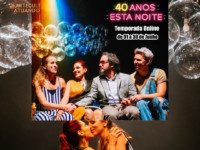 """""""40 ANOS ESTA NOITE"""": , Para celebrar o mês do orgulho LGBTI+ o espetáculo estreia em Junho no YouTube"""