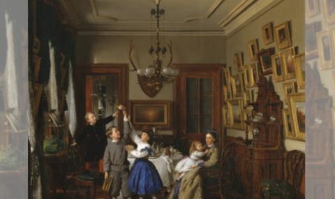 Dentro de casa: Interiores retratados em várias obras de arte em diferentes momentos da história