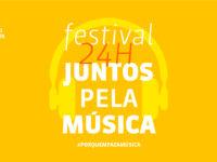 Música: União Brasileira de Compositores apresenta o Festival 24h Juntos Pela Música