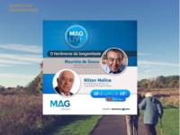 Longevidade: Maurício de Sousa num bate-papo sobre o tema com a MAG Seguros