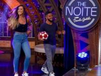 Campeões de Teqball serão entrevistados no The Noite