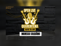 PROGRAMA QUARENTENA: Open Live que beneficiará a ONG Ação pela Cidadania apresentará artistas do país inteiro