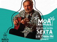 Música: Moacyr Luz interpreta sucessos da carreira em live nesta sexta-feira
