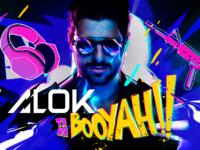 Música Eletrônica: Misturando música e games, ALOK estreia canal de lives na plataforma BOOYAH!