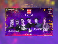 Todxs Music Festival : Maior festival online de música eletrônica do Brasil terá transmissão exclusiva no TikTok