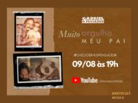 Gabriel O Pensador : Cantor faz live dos pais com participação de pais e filhos artistas