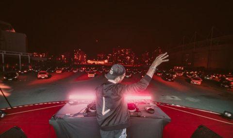Música Eletrônica: Lucce mostra sua experiência no principal Drive-In do Rio de Janeiro e apresenta playlist para a pandemia