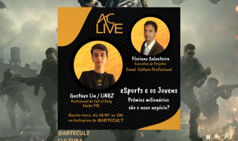 AC LIVE – eSports e os Jovens: Prêmios milionários são o novo negócio?