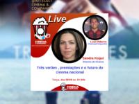 Live CinemaeCompanhia: Vamos receber nesta terça a diretora de cinema SANDRA KOGUT