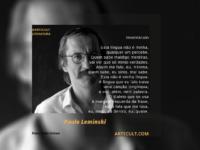 Grandes Autores: Paulo Leminsky – Invernáculo