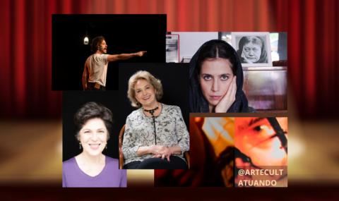 #EMCASACOMSESC: Para quem gosta de TEATRO, espetáculos imperdíveis com Eva Wilma, Esther Góes, Mel Lisboa e Michel Blois