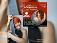 FESTIVAL ZIRIGUIDUM #16: Dani Coimbra canta em homenagem  a Milton Nascimento e faz dueto com Cláudio Lins