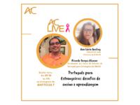 AC LIVE – Português para Estrangeiros: desafios de ensino e aprendizagem