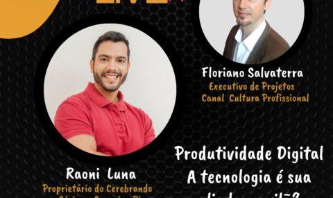 """AC LIVE com Raoni Luna: """"Produtividade Digital – A Tecnonologia é sua aliada ou vilã?"""""""