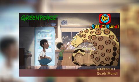 Tem um monstro na minha cozinha: Wagner Moura e Greenpeace lançam animação que expõe a destruição das florestas para a produção de carne