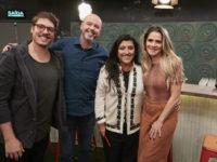Porchat se diverte com as histórias de Regina Casé, Ingrid Guimarães e Alex Escobar