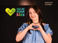 """ANA CLARA MARTINS : Atriz, cantora e """"Jovem Inspiradora"""" é convidada especial para Live do Dia de Doar Kids 2020"""