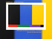 SUED: A abstração e a cor do artista carioca