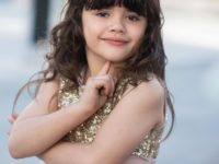 BIA BARRETO: atriz mirim com apenas 6 anos de idade integra o elenco de 'Matilda – In Concert' em única apresentação