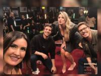 Fátima Bernardes, Chay Suede e Dani Calabresa participam do 'Que História É Essa, Porchat?' de hoje