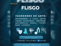 FLISGO 2020: Segunda edição do Festival está recebendo inscrição em vídeos para sua edição online com várias Mostras artísticas
