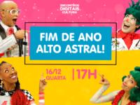 Fim de ano alto astral: Última live de 2020 do Quintal da Cultura
