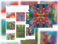 Fabled Gallery Art: Artista plástica residente na Suíça cria galeria de arte virtual