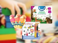 Abremente e Arty Mouse: Coleções de Livros infantis oferecem atividades lúdicas para a volta às aulas