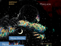 """MARQUIORI: Produtor musical e artista visual lança EP """"NOSSA HISTÓRIA"""" com 6 faixas de rap nacional"""