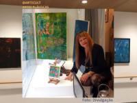 """LUZ ARTÍSTICA TERAPÊUTICA"""": Artista plástica Leda Risse realiza exposição depois de um ano sem apresentar o seu trabalho devido à pandemia da COVID-19"""