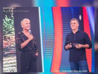"""Xuxa no Caldeirão do Huck: Edição do quadro """"Visitando o passado"""" com a apresentadora está prevista para ser exibida ainda este mês"""