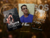 """Ícaro Rafael: Escritor de romance, contos e poemas. Conheça """"Versos para amanhecer em 2021"""" e """"Presente Inesperado"""""""