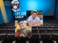 LIVE – A IMPORTÂNCIA DO CINEMA: Nosso canal Cinema & Companhia (@cinemaecompanhia) fará uma live nessa sexta às 19:30h com o jovem cantor e compositor GANEM de Sergipe