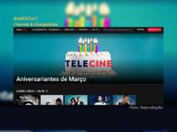 Aniversariantes do Mês: Telecine apresenta cinelist e especiais em homenagem aos aniversariantes de março