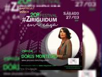 #ZiriguidumEmCasa : 20ª edição do Festival festeja 70 anos de carreira de Dóris Monteiro