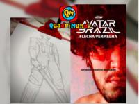 FLECHA VERMELHA: Quadrinista Elyan Lopes começa a compartilhar nas redes socias todo processo de criação de um novo super-herói brasileiro