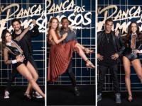 Juliana Didone, Marcello Melo Jr e Rodrigo Simas se preparam para a segunda apresentação do 'Super Dança dos Famosos'
