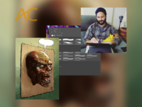 """LDZ ESCOLA DE ARTES VISUAIS: Confira a programação da semana da LDZ com aula aberta sobre """"Brushes"""", o #DESAFIOLDZ com o tema """"Zumbis"""" e a live com o quadrinista Rafael Loureiro!"""