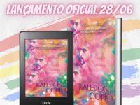 Kaledoskopio: Clara Artemis, especializada em romances LGBTQIA+, lança seu quinto livro no dia 28 de junho