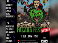 FACADA FEST ONLINE: Curte Punk e Hardcore? Então conheça e acompanhe o Festival underground independente antifascista