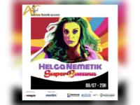 SUPERBACANA: A atriz e cantora HELGA NEMETIK fará única apresentação do seu show no IMPERATOR