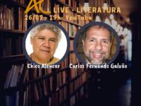 """A literatura começa quando terminamos de ler o livro: Carlos Fernando Galvão conversa com Chico Alencar sobre Literatura e seu livro """"Revolução em Lagoa Linda"""""""