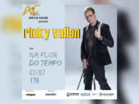 NA FLOR DO TEMPO: O cantor RICKY VALLEN fará única apresentação do seu show no IMPERATOR