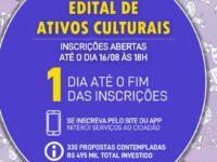 Edital de Ativos Culturais: Segunda é o último dia para você se inscrever no Edital de Ativos Culturais da Secretaria das Culturas de Niterói